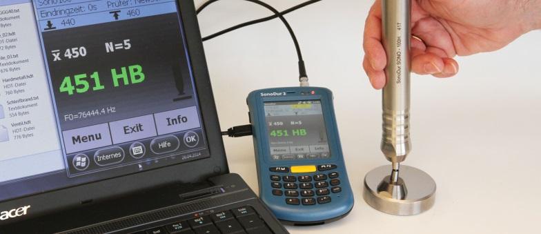Hardheidsmeter - Benelux NDT - NewSonic