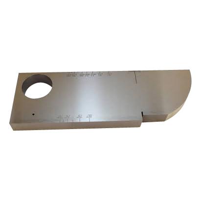 Ultrasoon - Benelux NDT - kalibratieblok / calibration block